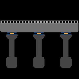 جداساز لرزه ای در پل ها