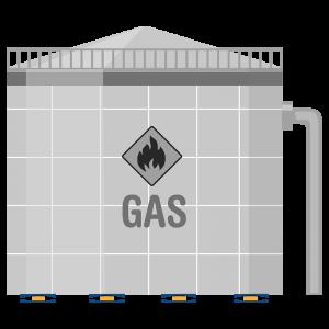 جداساز لرزه ای در مخازن گاز مایع
